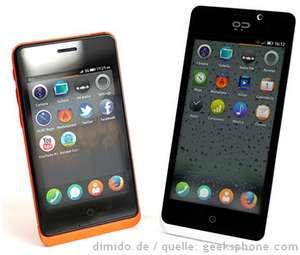 Smartphone-Modelle Keon und Peak von Geeksphone