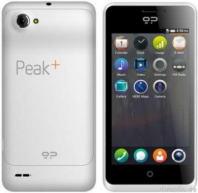 Firefox OS Smartphone Geeksphone Peak Plus