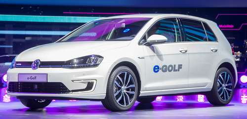 IAA 2013 vor Ort – E-Golf von Volkswagen