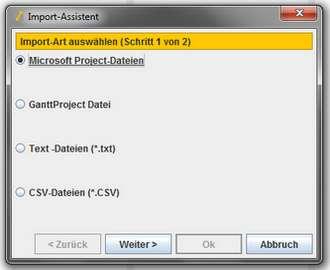 GanttProject – Software für kleine Projektmanagment-Aufgaben
