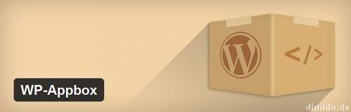 WP-Appbox - Infos über Apps in WordPress komfortabel einbetten