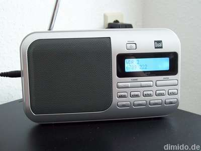 tragbares digitalradio im test dual dab 4 dab radio. Black Bedroom Furniture Sets. Home Design Ideas
