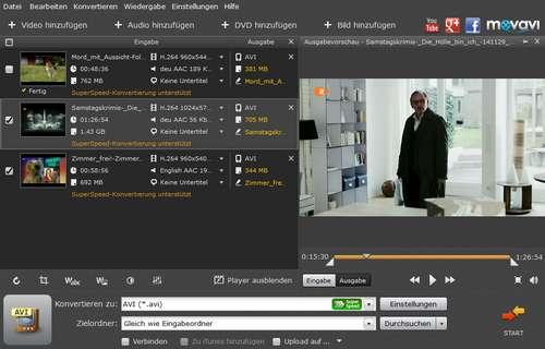 Video in mp4 umwandeln