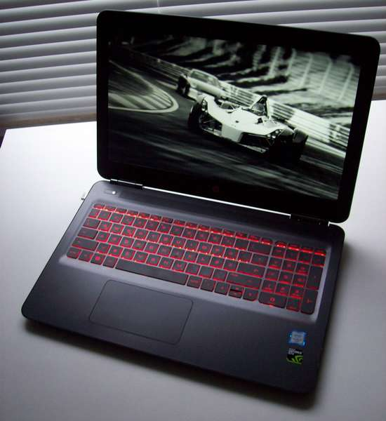 HP OMEN - Gaming-Notebook mit IPS-Display mit Full-HD-Auflösung
