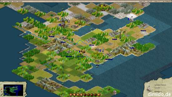 FreeCol – freies Remake vom Computerspiel Colonization