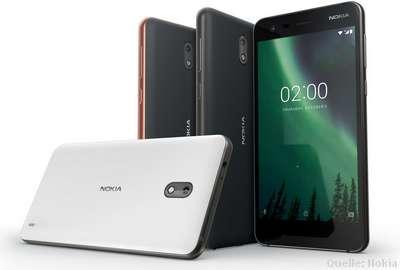 Nokia 2 - Android Nougat und Oreo