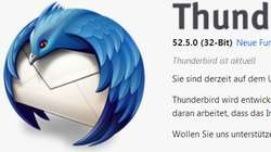 Thunderbird Update