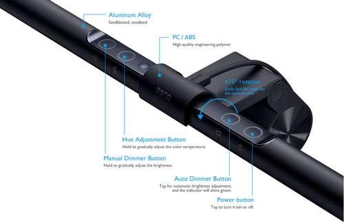 BenQ ScreenBar - Lichtsteuerung