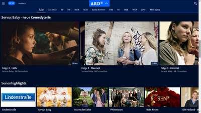 Serien - Neue ARD Mediathek